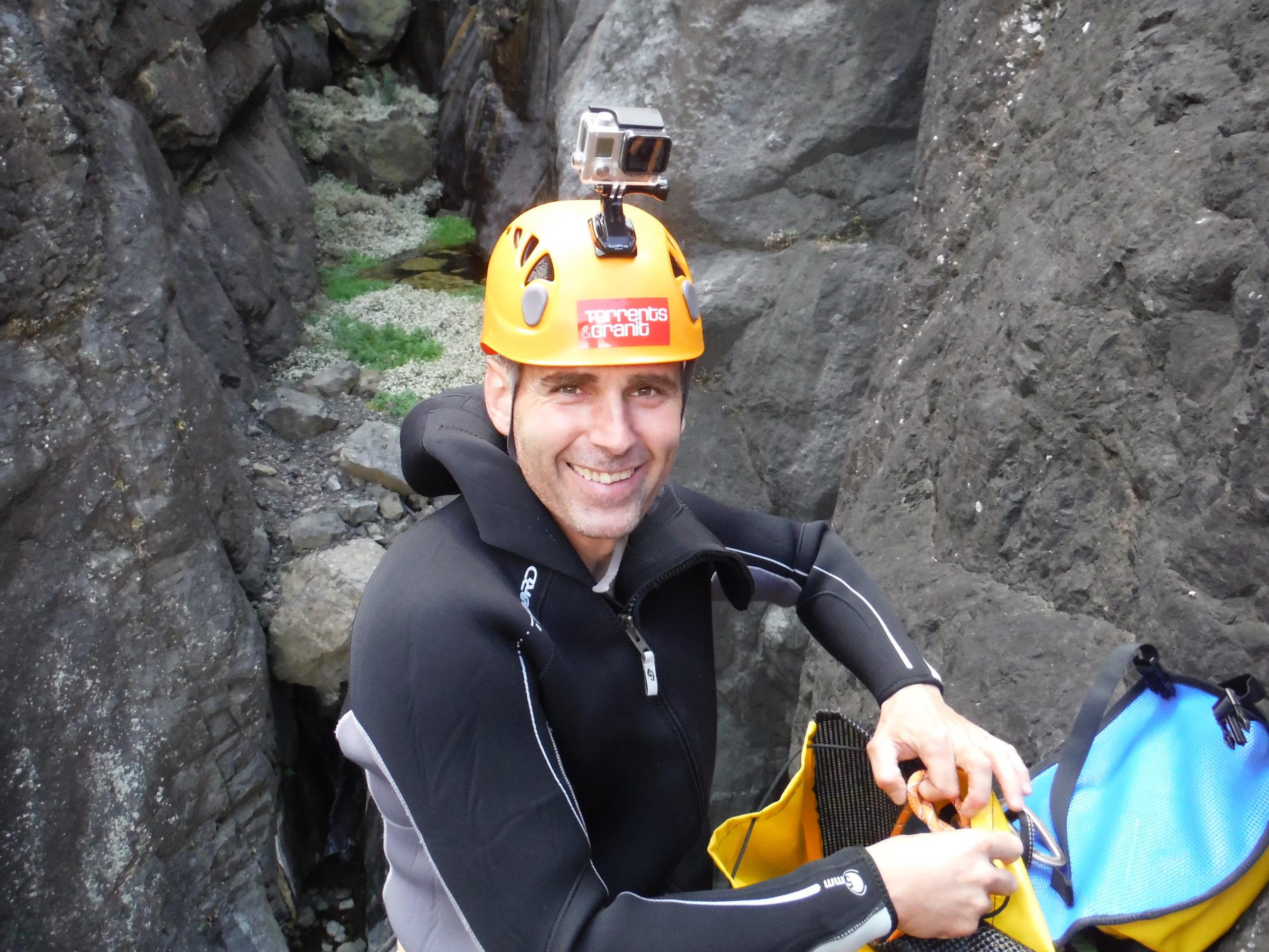 Accompagnateur canyoning et jump en ardèche