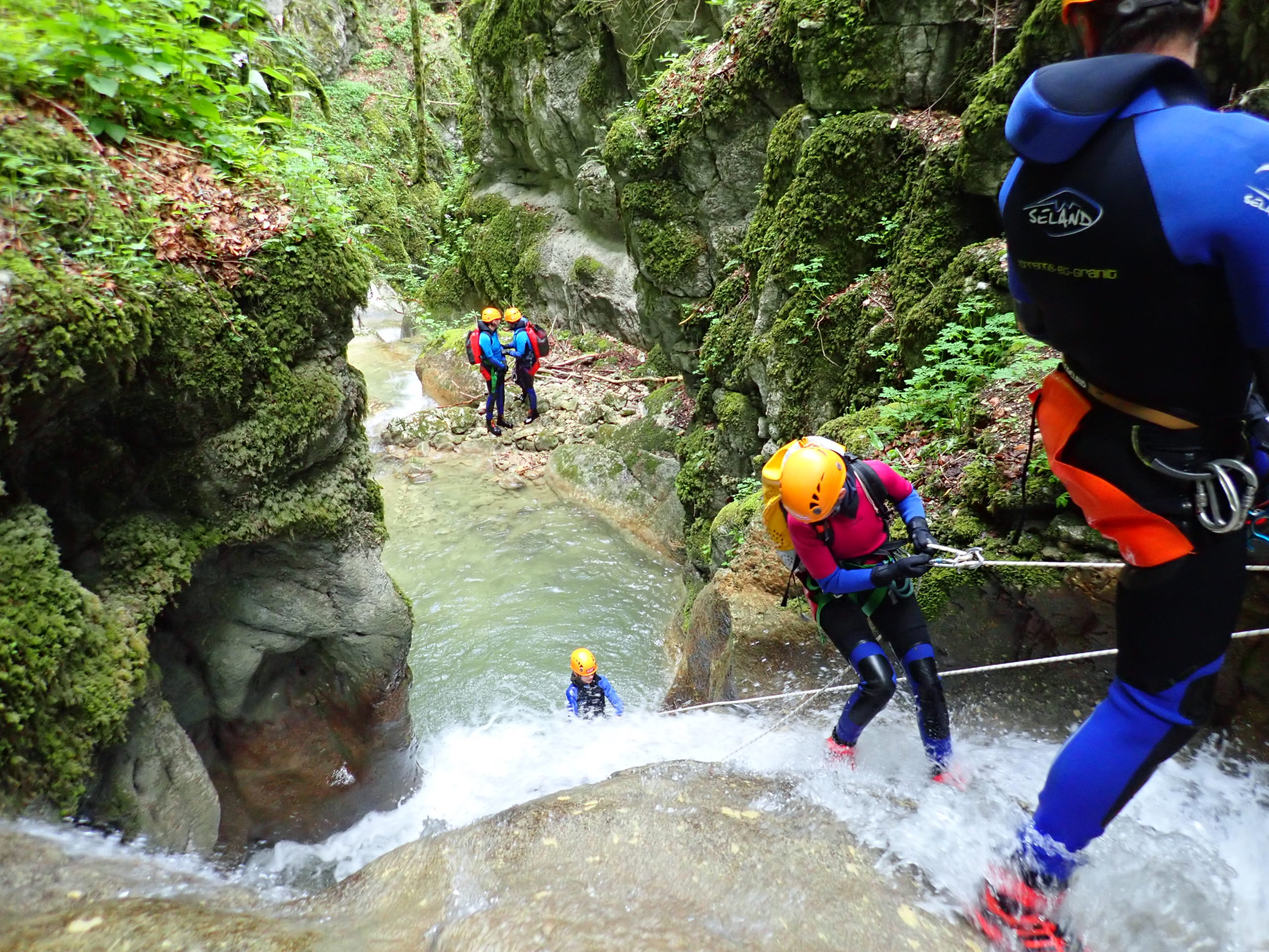 formation canyoning ardèche